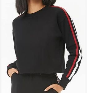 Forever 21 cropped crewneck sweater